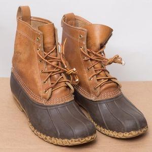 """Men's Bean Duck Boots by L.L.Bean 8"""" Size 8"""